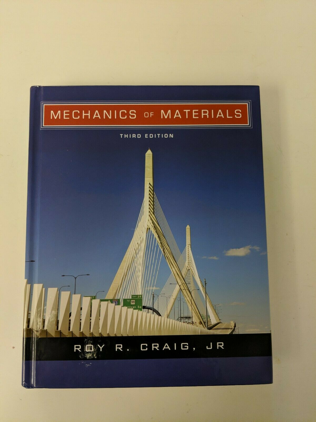 Mechanics of Materials by Roy R  Craig (2011, Hardcover)