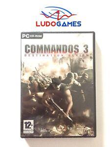 Commandos-Destination-Berlin-PC-Scelle-Videogame-Retro-Scelle-Produit-Nouveau