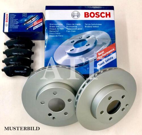 BOSCH Bremsscheiben Bremsen Bremsbeläge Toyota Avensis T27 Vorne 295mm
