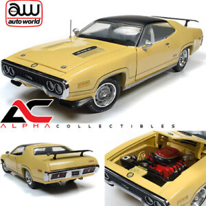 AUTOWORLD-AMM1186-1-18-PLYMOUTH-ROAD-RUNNER-GTX-LEMON-TWIST-MCACN