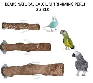 BEAKS-NATURAL-CALCIUM-BIRD-CONURE-AMAZON-MACAW-NAIL-BEAK-TRIMMING-PERCH-3-SIZES