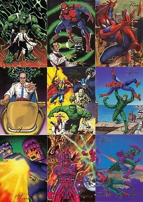 94 Flair Marvel Comics 150 Card set Complete 150 card set