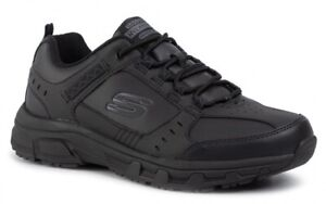 SKECHERS-RED-WICK-51896-BBK-scarpe-uomo-sportive-sneakers-running-pelle-nero