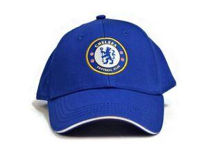 16fd3b6121f CHELSEA FC FOOTBALL CLUB SOCCER TEAM NAVY BASEBALL CAP OFFICIAL CORE ...
