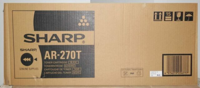Original Sharp AR-270T Toner für AR 215 235 236 275 276 AR M 276 208 236 KartonC