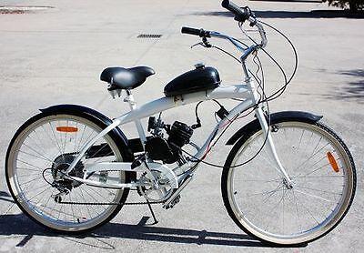 Motorized Bike Engine Petrol Gas 80cc 2-Stroke Push Bike Engine Motor Kit