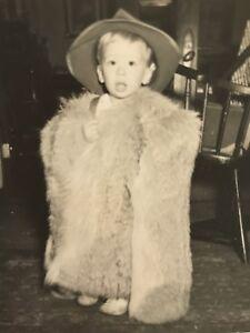 Vintage-Little-Boy-In-Fur-Coat-Snapshot-D3