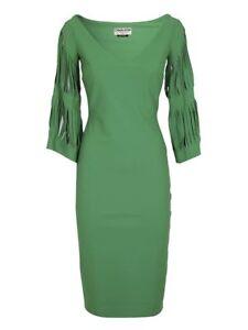63d34263 $750 LA PETITE ROBE DI CHIARA BONI HALI DRESS in EMERALD GREEN SZ 42 ...