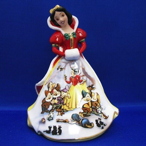 Disney Snow White's Dream Bradford Exchange Bell Figurine