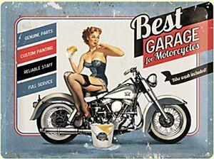 Mejor-Garaje-para-Motocicletas-con-Relieve-Letrero-de-Metal-400mm-X-300mm-Na