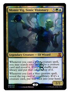 From the Vault: Lore FOIL NM//EX MTG CARD 1X Momir Vig Simic Visionary