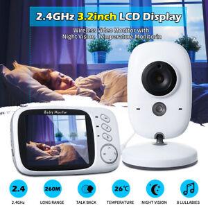 2-Way-Talk-3-2-039-039-Digital-Wireless-Baby-Monitor-Night-Vision-Video-Audio