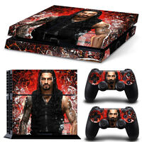 Ps4 Skin & Controllers Skin Vinyl Sticker For Playstation 4 Wwe Wrestling Reigns