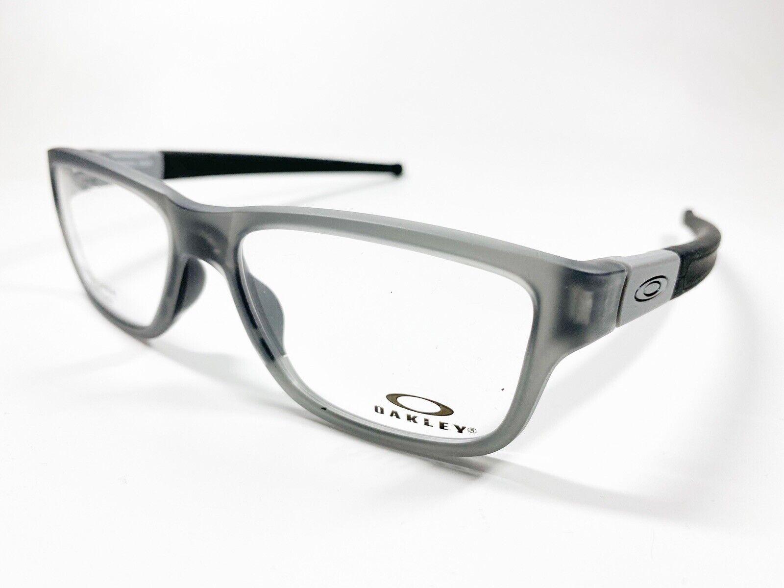 OAKLEY Marshal MNP 8091 02 55 satin grey Brille Kunststoff Brillenfassung NEU
