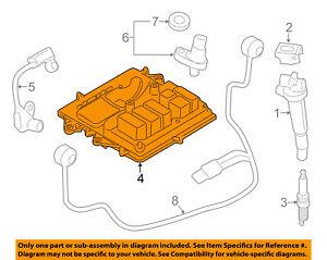 bmw oem 2013 135i ecm pcm ecu engine control module computer rh ebay com  bmw 1 series engine diagram