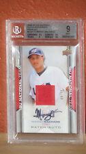 2019-10 USA Baseball Patch Autograph Manny Machado Card BGS 9 Auto 8.