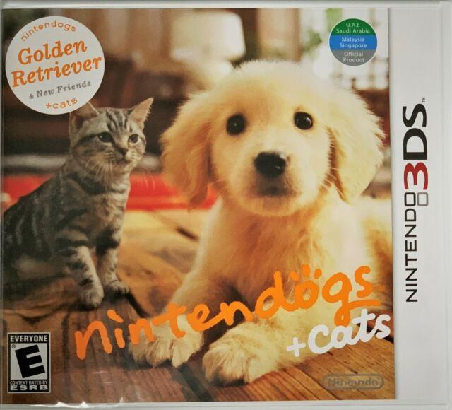Nintendogs Cats Golden Retriever New Friends Nintendo 3ds 2011 For Sale Online Ebay