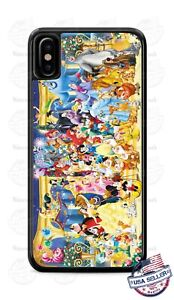 Disney-Mickey-Mouse-Princess-Phone-Case-For-iPhone-11Pro-Samsung-LG