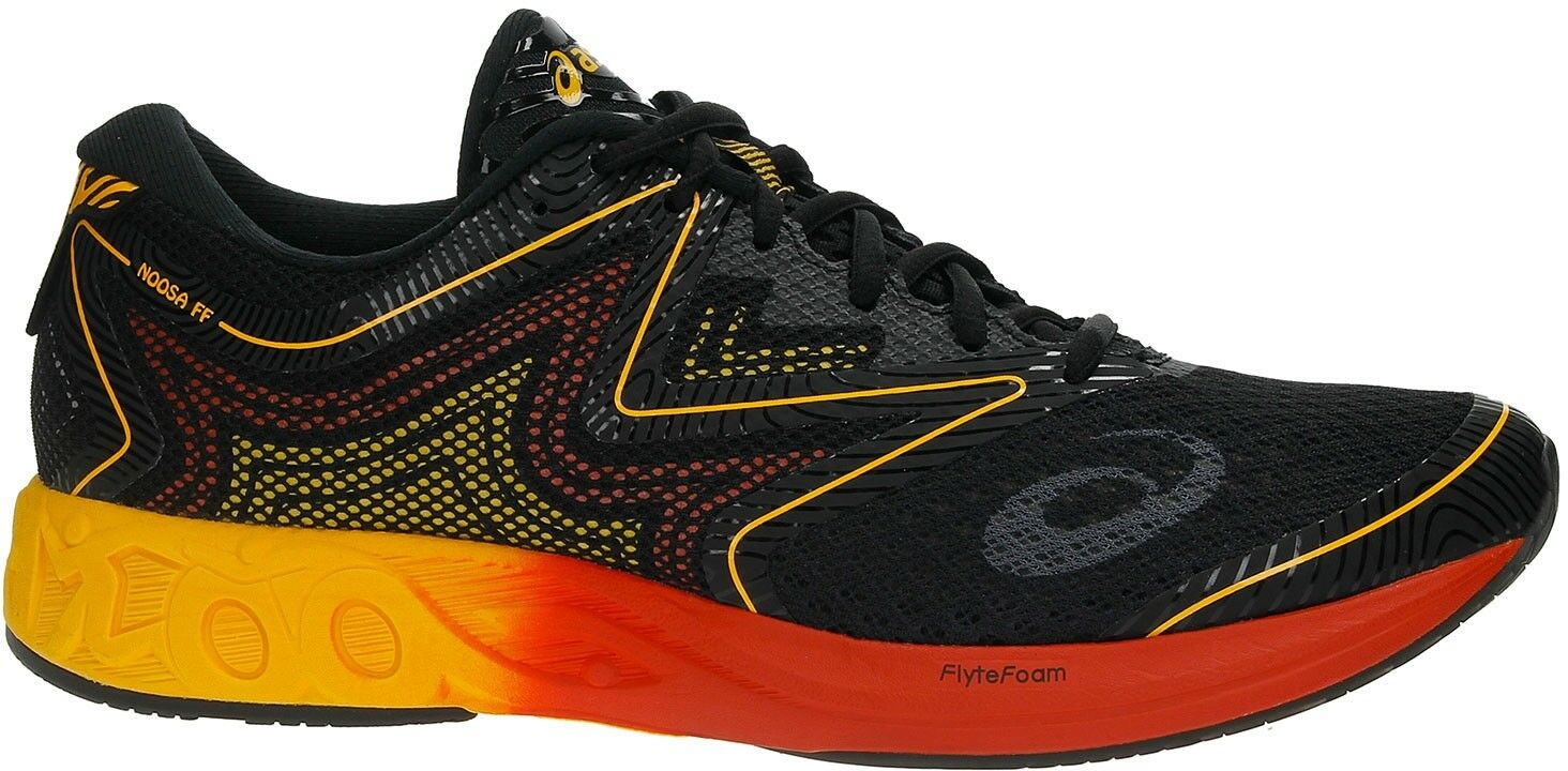 Asics Noosa FF Mens Running shoes - Black and orange