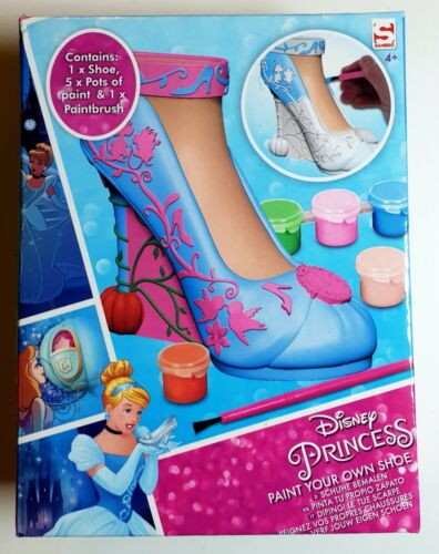 Disney Princess Cinderella peinture Your Propre Chaussure Set Sambro 4 ans jouets pour filles