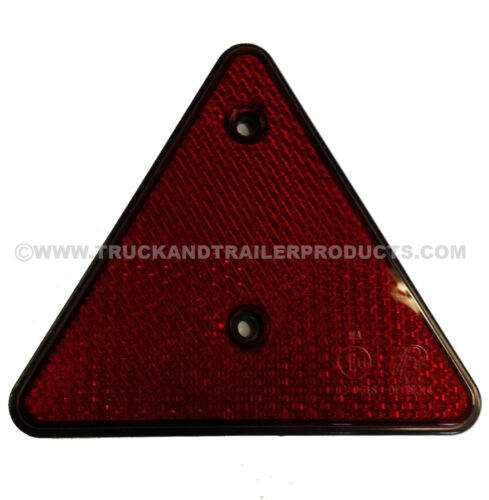 Trailer Triangle Reflector 152 x 110mm Truck Pair