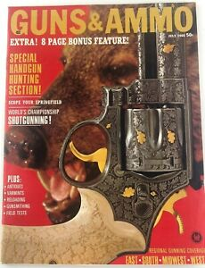 Vintage-GUNS-amp-AMMO-Magazine-July-1966-Handgun-Hunting-Special