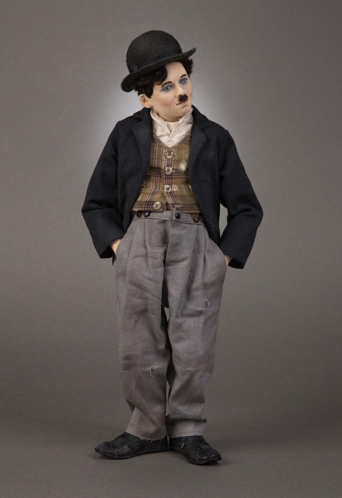 R John Wright-Charlie Chaplin Muñeca solamente-sin restos de perro