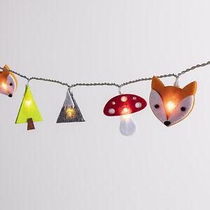 Details zu 16er LED Kinder Lichterkette Kinderzimmer Beleuchtung Timer  Batterie Lights4fun