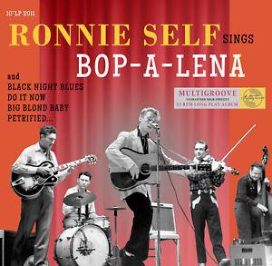 10 INCH / 25 CM - Ronnie Self - Bop A Lena - LP NEW & SEALED