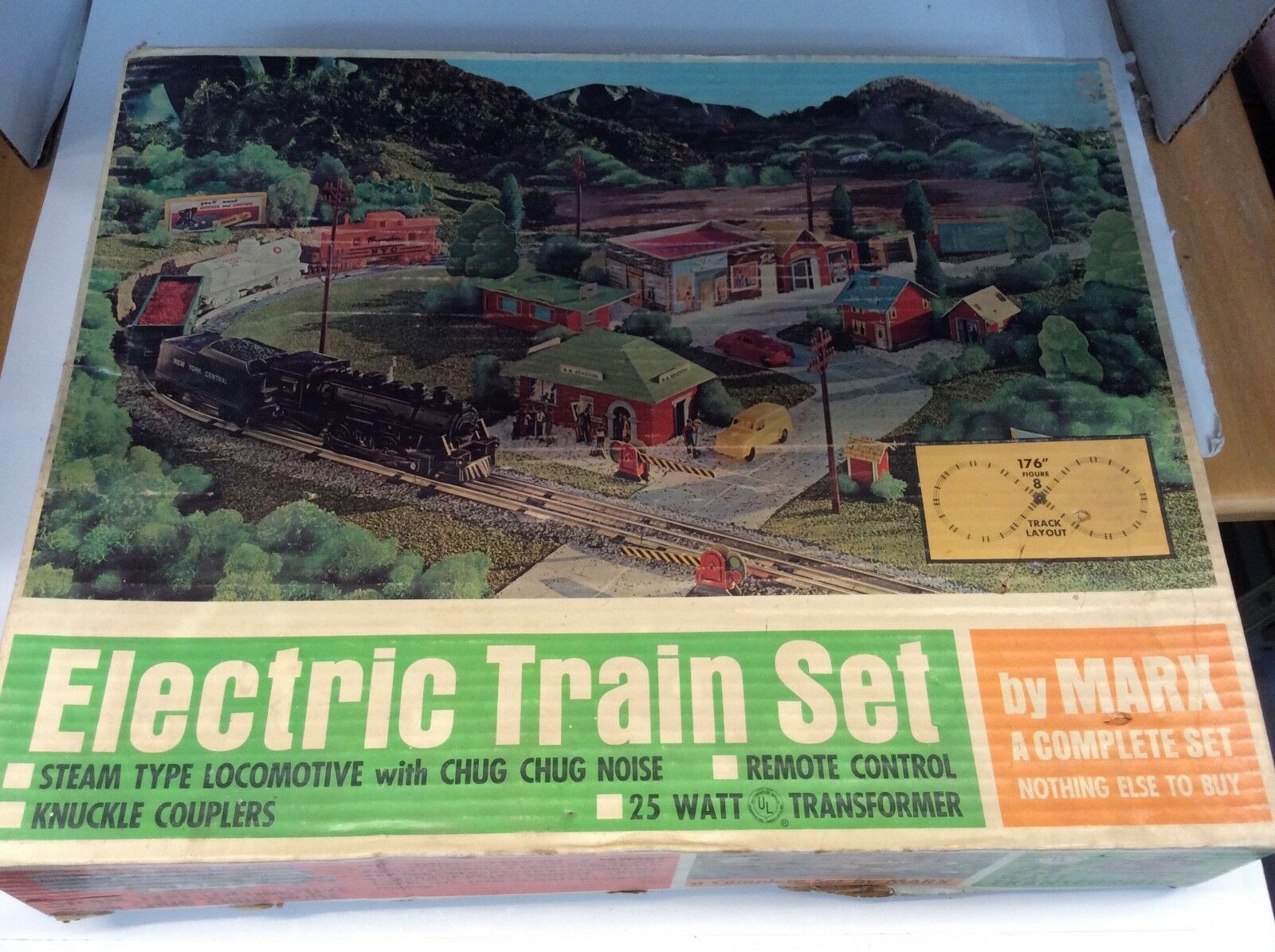 Marx  4353 electric train set