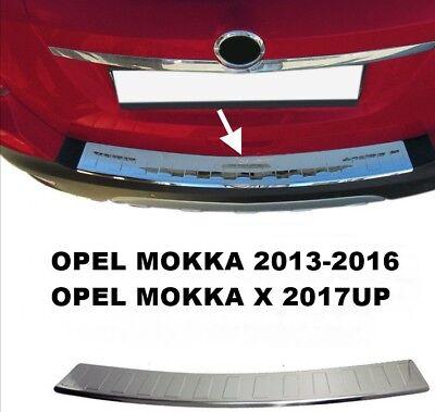 MOKKA//MOKKA X Protector de parachoques trasero acero inoxidable, cromo