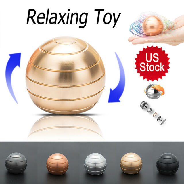 Desktop Decompress Rotating Spherical Gyroscope Kinetic Adult Stress Release Toy