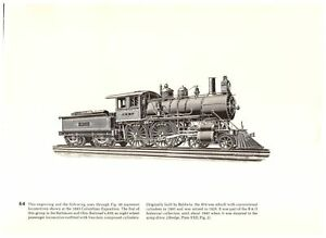 B-amp-O-Railroad-No-859-Baldwin-039-s-Decapod-Erie-Railway-World-039-s-Fair-Train-print