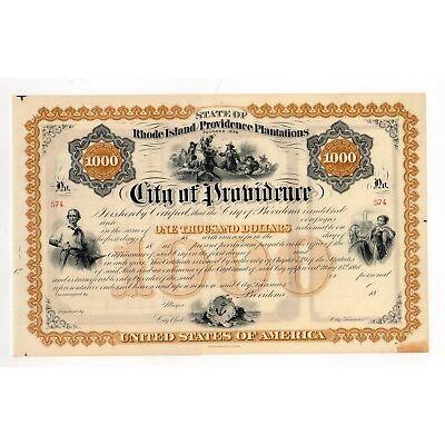 City of Providence-Rhode Island & Providence Plantation