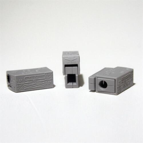 10 Pezzi WAGO Morsetti Luci morsetto 1,0-2,5mm² Morsetto di connessione luci-Wagos