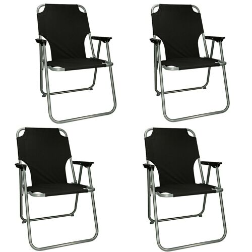 Silla de camping 2er o 4er set silla de jardín silla plegable silla angel compacta plegable