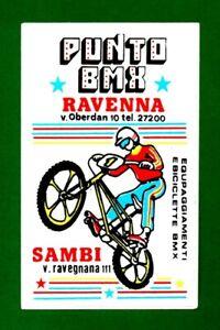 ALTER-AUFKLEBER-ADESIVO-STICKER-PUNTO-BMX-RAVENNA-ANNI-039-80-VINTAGE-11-5X7-5-cm