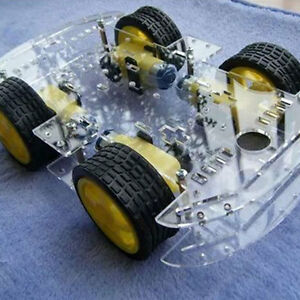 4WD Smart Robot Car Chassis Kit with Magneto Speed Encoder for Arduino 51