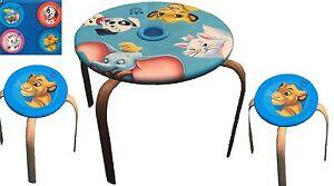 Disney Animal Friends Kindertisch 2 Hocker Tischgruppe Kindermöbel