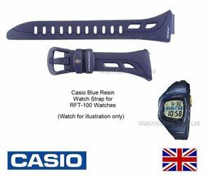 Genuine Casio Bracelet De Montre Bande Pour RFT 100, RFT100  bfvzA