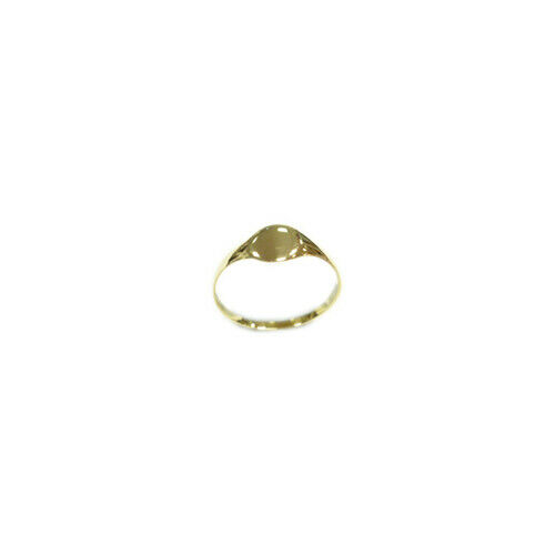 9ct Gold Baby//Childs Oval Ring