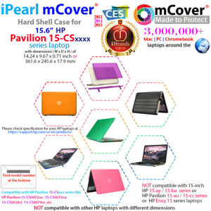 NEW-mCover-Hard-Shell-Case-for-2018-15-6-034-HP-Pavilion-15-CSxxxx-series-laptop