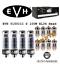 thumbnail 1 - Premium GOLD Tip Tube Set Peavey 5150III S 100 Watt EL34 Head Electro Harmonix