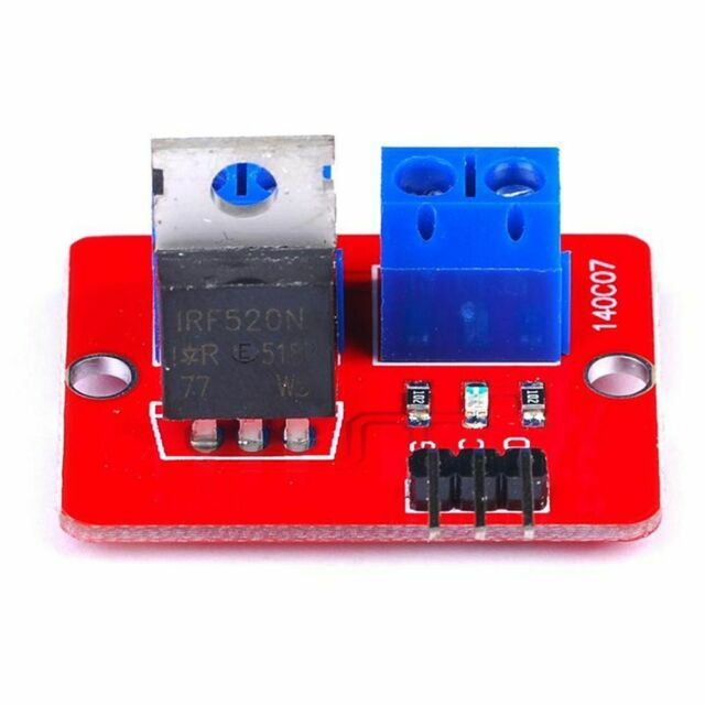 Electronic Smart 0-24V MOSFET MOS Tube IRF520 Driver Module for Raspberry Pi ARM