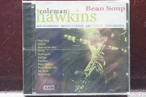 Rare-Coleman-Hawkins-Jazz-Bean-Soup-23-Tracks-CD-1st-Made-in-England-1999-MINT