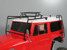 Windshield Protector Frame Small Roof Rack Stair set Tamiya 1/10 Land Cruiser 40