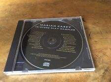 Mariah Carey - In-store Play Sampler - USA 1995 Promo Only 11trk Cd.Very Rare.