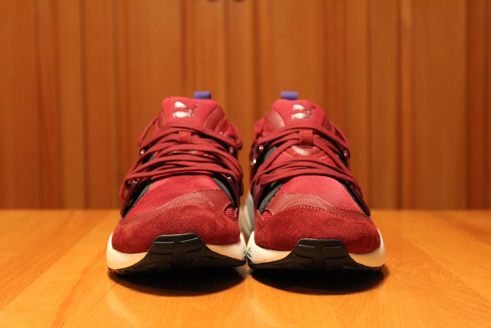 Puma Puma Puma Blaze of Glory Uomo scarpe Cordovan bianca Dimensione 11 New Running 8c0a61