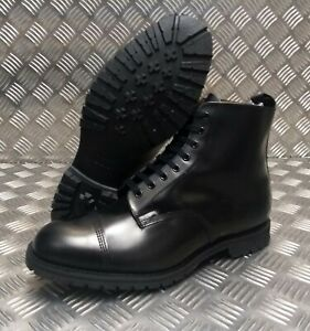 Genuine-British-Made-Sanders-Military-Officers-Derby-Boots-Leather-Marvelfairs