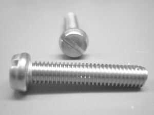 M 3,5 Zylinderschrauben Gewindeschrauben mit Schlitz DIN 84 Edelstahl A4 M 3